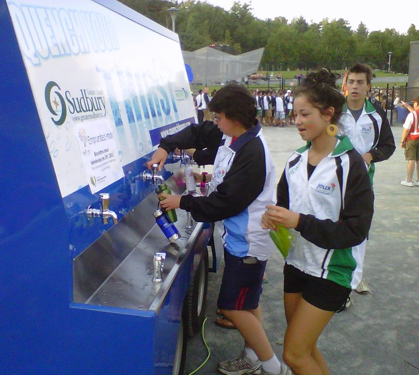 Hydrating Thirsty Athletes