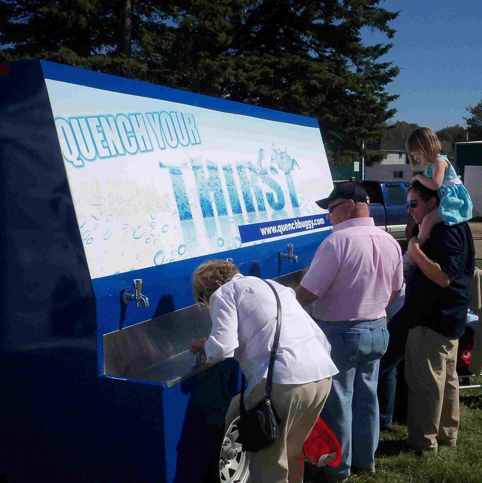 Erin Fall Fair Provides Water Stations