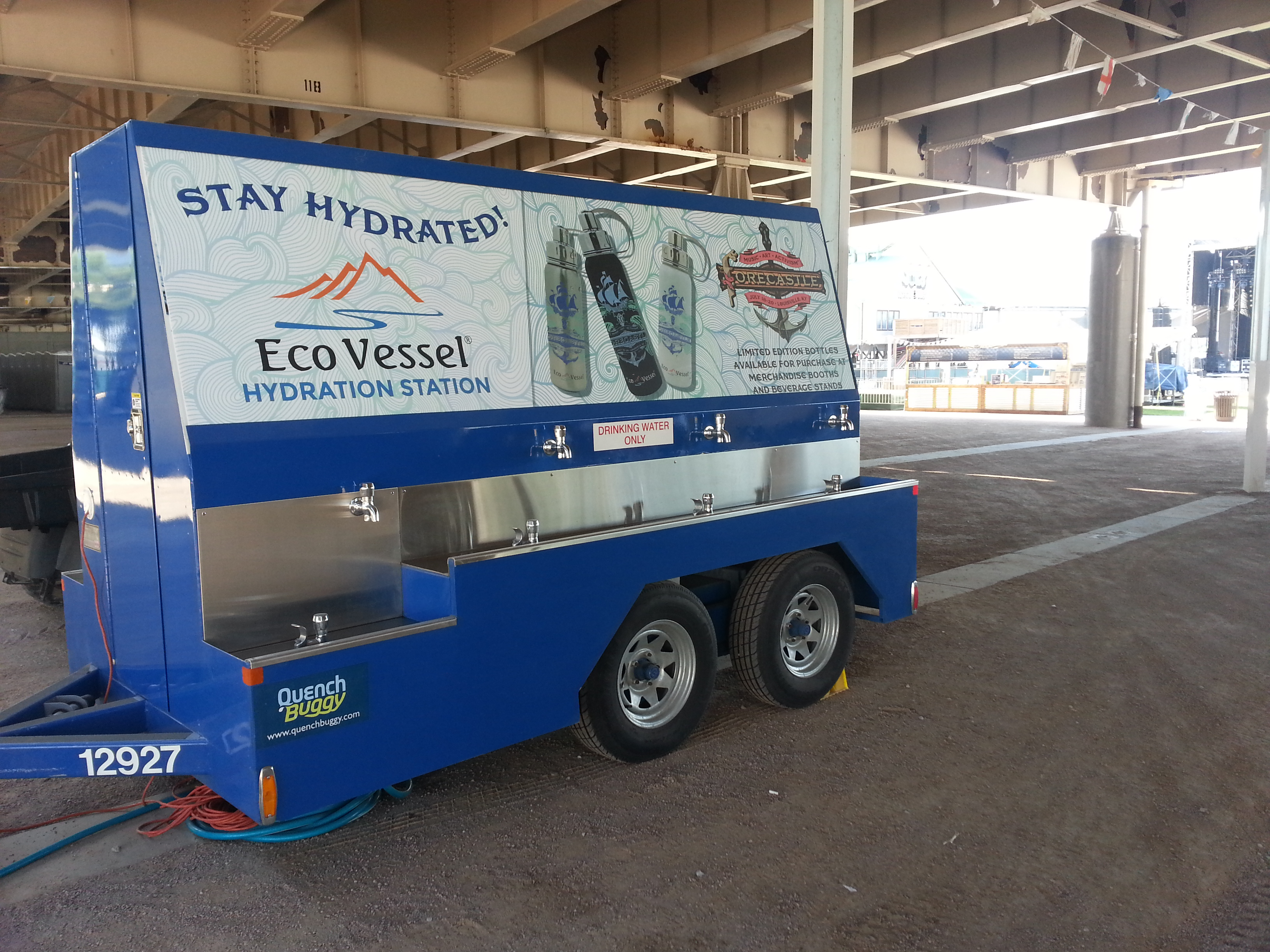 Water Refill Stations for EDM - Quench Buggy