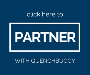 Quench Buggy mobile water station partnership