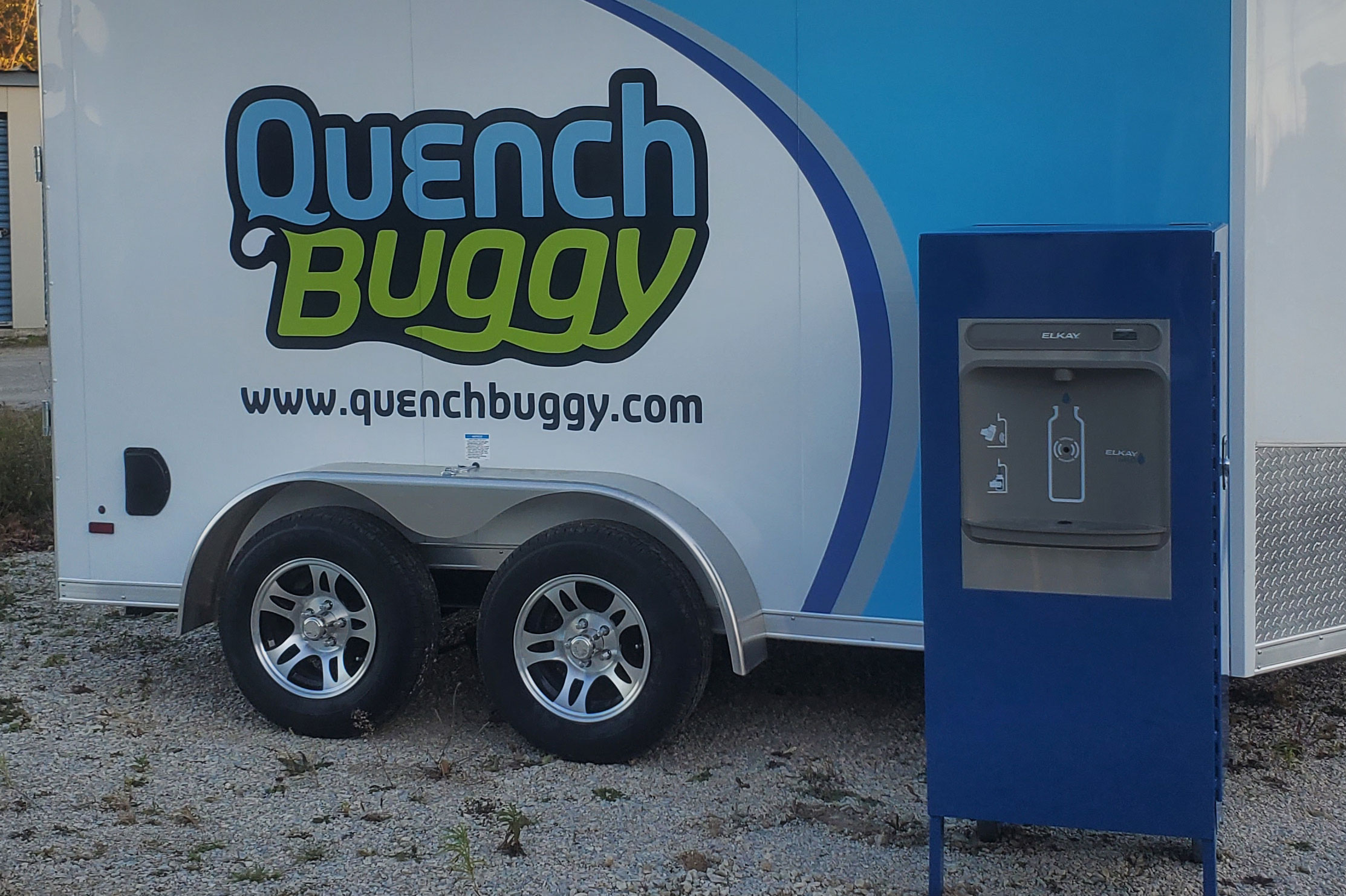Quench Solo: Single Station mobile Water Filling Station